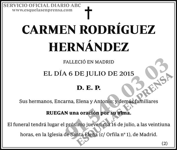 Carmen Rodríguez Hernández